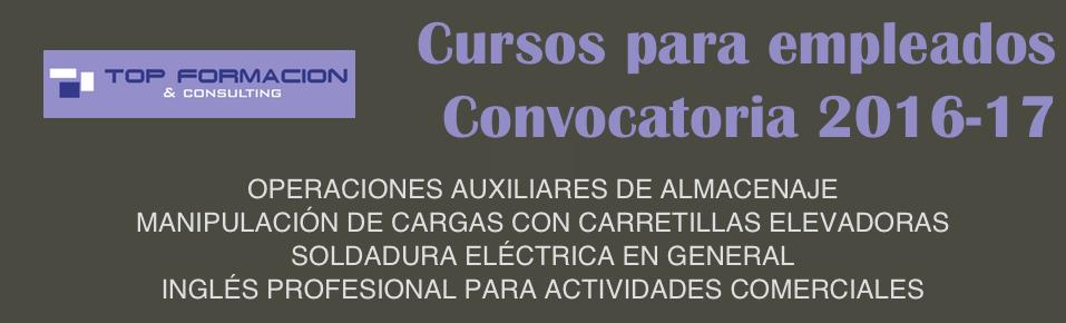 Cursos para empleados en Palencia - Top Formación